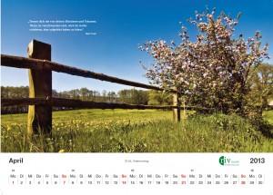 RIV-Kalender 2013 - April