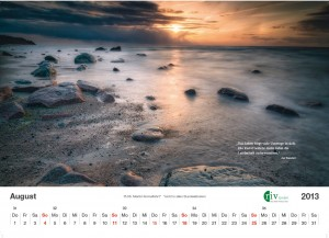 RIV-Kalender 2013 - August