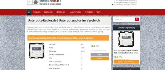 Unterputz-Radios.de