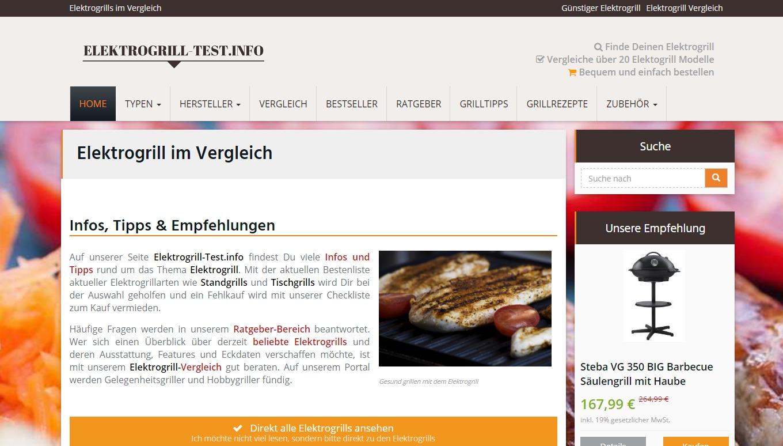 Ratgeberportal www.elektrogrill-test.info