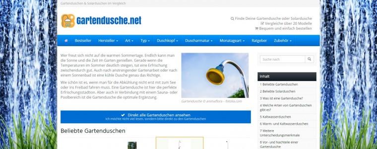 Ratgeberportal für Gartenduschen und Solarduschen