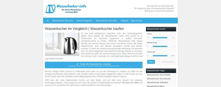 Ratgeberportal für Wasserkocher